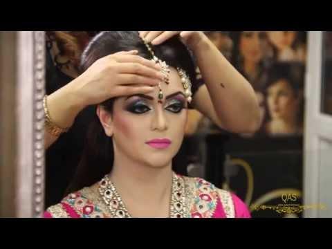 Asian Bridal Makeup Tutorial By Qas Of Kashish -Traditional Look.