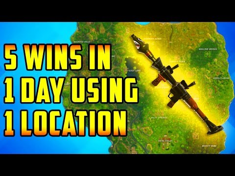 BEST Place To LAND For EASY WINS and LOOT (Fornite How To Win Tips)