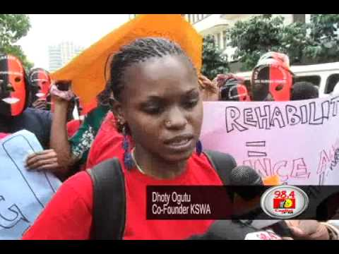 Kenya sex workers take to the Streets