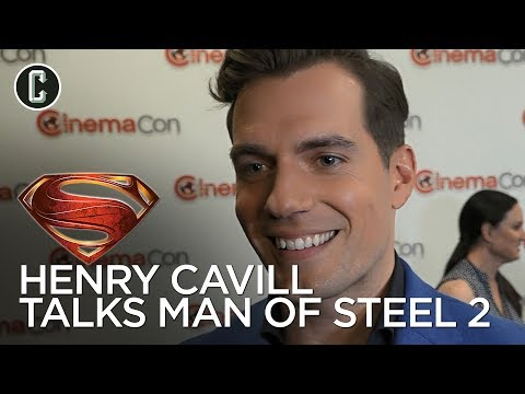 Henry Cavill on Man of Steel 2 and His DC Contract