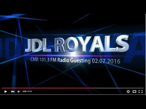 JDL Royals, 'Will Perform in the Philippines?', CMR 101.3 FM Radio Guesting (audio), Pt.5