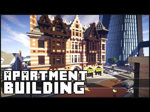 Minecraft Epic Apartment Building
