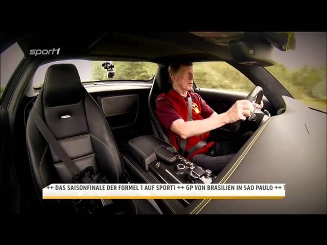 Walter Röhrl - Mercedes SLS AMG Electric Drive - YouTube