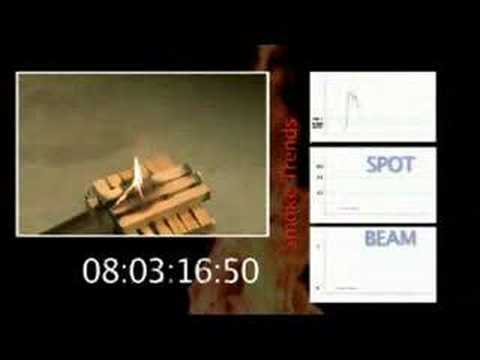 VESDA Advanced Smoke Detection Demonstration