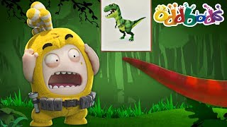 Oddbods | Jurassic Dinosaur Park | NEW | Funny Cartoons For Kids