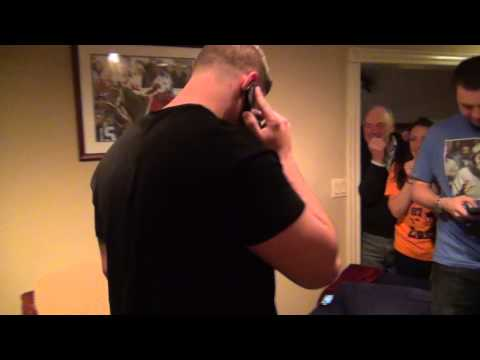 Justin Pugh Draft Day Phone Call