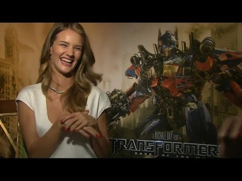 Rosie Huntington-Whiteley Uncut Interview - Transformers 3: Dark of the Moon
