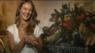 Rosie Huntington-Whiteley Interview - Transformers 3: Dark of the Moon