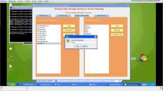 ensuring data storage security in cloud computing