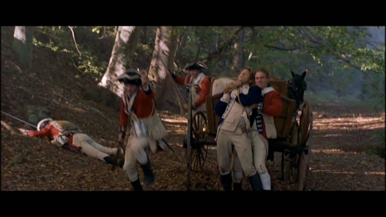 The Patriot Tomahawk Scene