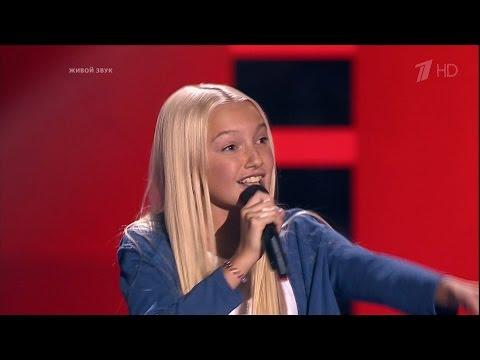 The Voice Kids Russia 2016. Aleksandra (Александра Нехай) — «Кукушка». Голос Дети