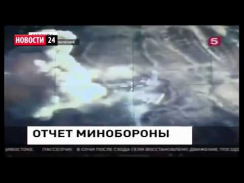 Сирия. Боевики ИГИЛ разбегается от ВВС РФ.