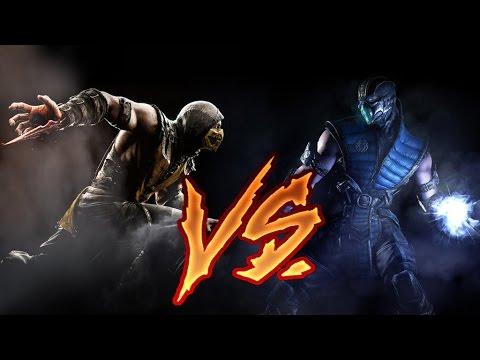 Скорпион против Саб-Зиро | Mortal Kombat X