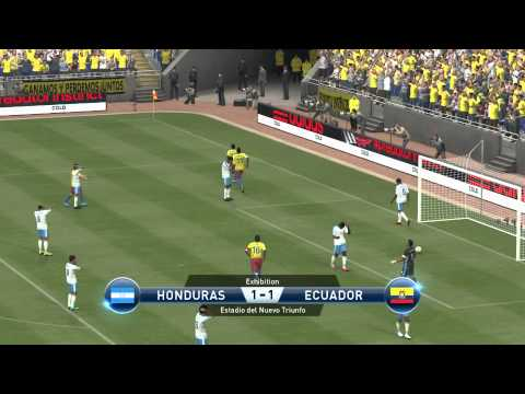 World Cup 2014 - Honduras vs Ecuador - Pro Evolution Soccer 2015