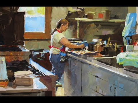 Kitchen Prep in Time Lapse, Painted by James Gurney
