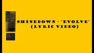 "Download Lagu Shinedown - ""Evolve"" (Lyric Video) Gratis STAFABAND"