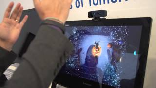 Intel shows off eye tracking and gesture tech
