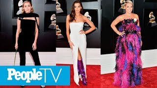 2019 Grammy Awards Fashion Wrap Up The Best Boldest Looks From The Red Carpet Peopletv