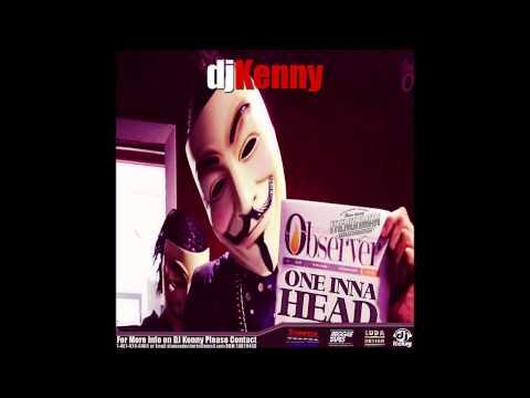 DJ KENNY ONE INNA HEAD DANCEHALL MIX NOV 2014
