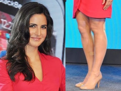 Katrina Kaif's Hot Legs In Nude Pumps video