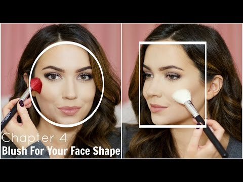 How To Apply Blush For Your Face shape   Chapter 4