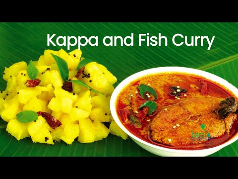 Kappa and Fish Curry - Kerala Cuisine