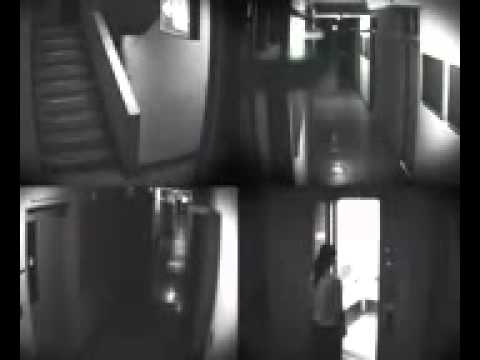 Japanese ghost caught on security camera