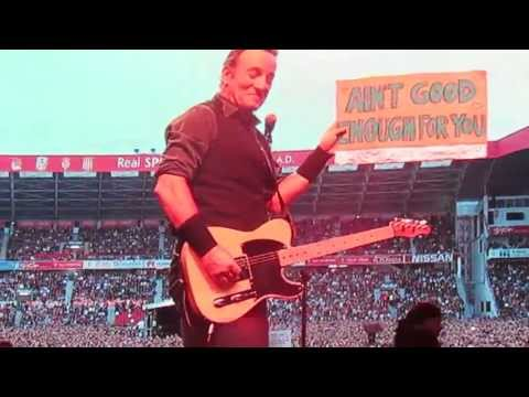 Bruce Springsteen - Aint Good Enough For You