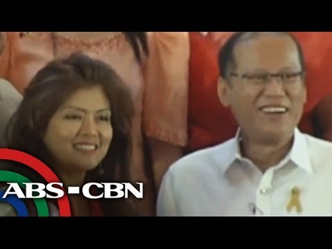 PNoy and Imee, politics rival are now textmate