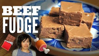BEEF FUDGE | Retro Recipe Taste Test