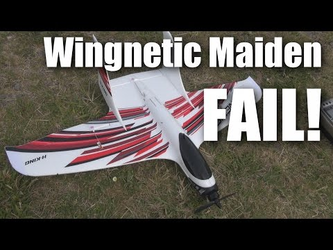 HK Wingnetic maiden (pilot)  fail :-(