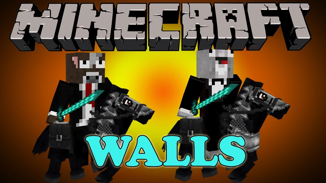 EPIC Minecraft   THE WALLS    The Camping Rusher Skin