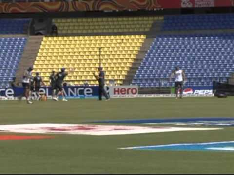 ICC World T20 2012: England team practice at Pallekele