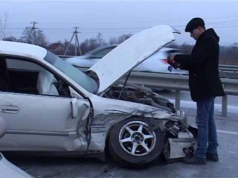 Железная схватка пяти авто произошла в ДТП в районе поворота на аэропорт