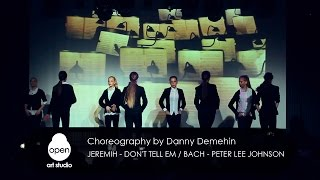 Jeremih - Don't Tell Em / Bach (VIOLIN COVER)  choreography by Danny Demehin  - Open Art Studio