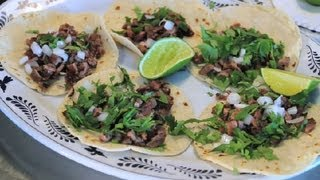 How to Make Mexican Tacos al Carbon : Texas Flavors