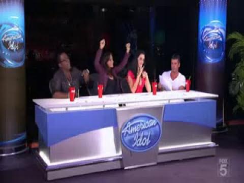 Katy perry & Kara fighting- american idol season 9 + chris audition.flv