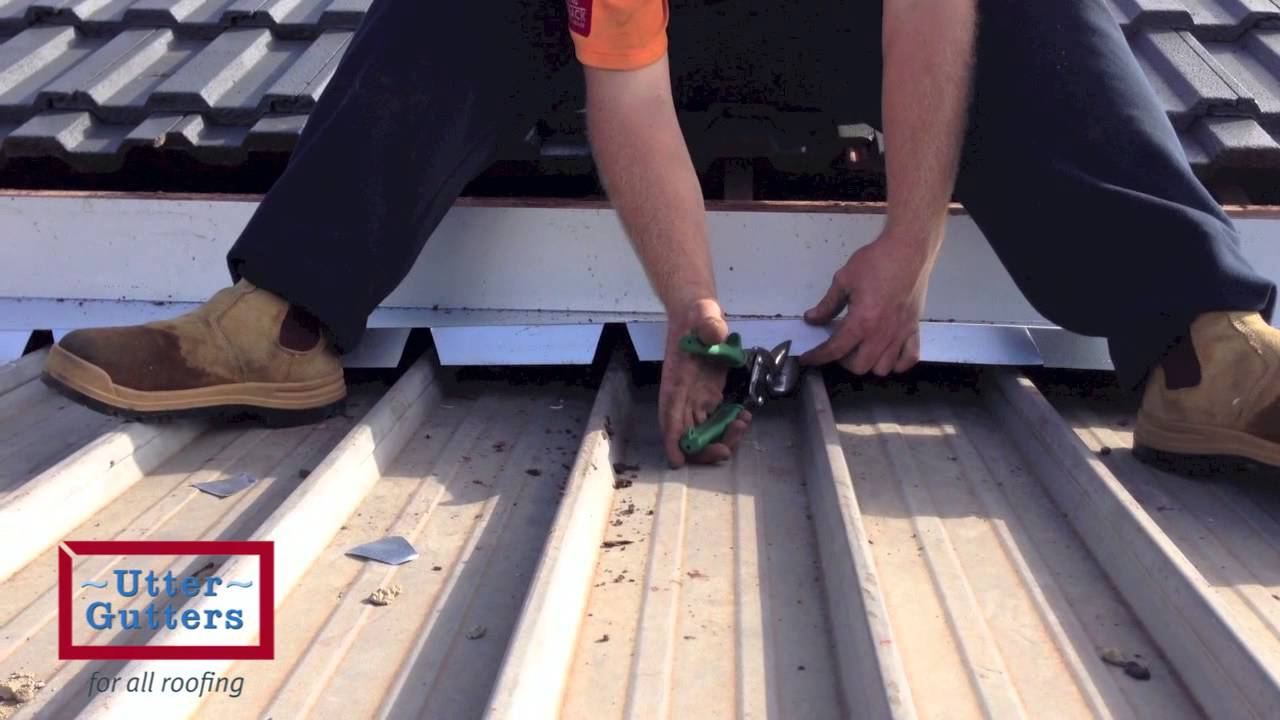 Scribed apron flashing permanent stop to verandah leaks youtube - Roofs reason why you need a permanent one ...
