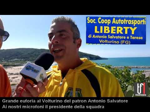 Volturino. Il presidente Antonio Salvatore presenta la sua squadra. Le immagini