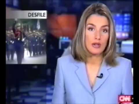 letizia en el telediario cnn+