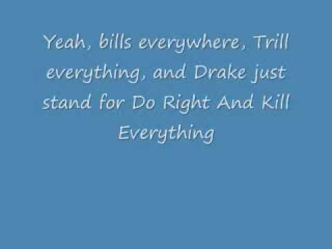 Drake - All Night Long (with lyrics)