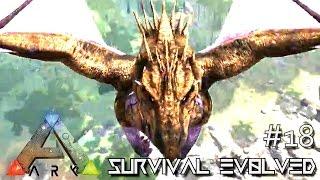 ARK: ANNUNAKI GENESIS MOD - CRAZY DRAGON CHAOS !!! S2E18 (Gameplay POOPING EVOLVED)