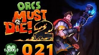 Let's Play Together: ORCS MUST DIE 2 #021 - Die vorletzte Welle  [deutsch] [720p]