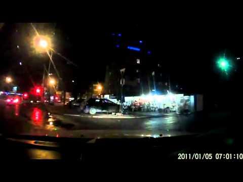 Обычная ссора водителей и жуткое ДТП