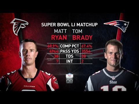 NFL Monday QB: Matt Ryan vs. Tom Brady Super Bowl preview