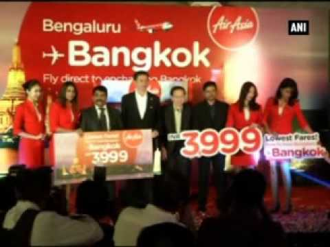 AirAsia launches new flights between Bangkok and Bengaluru