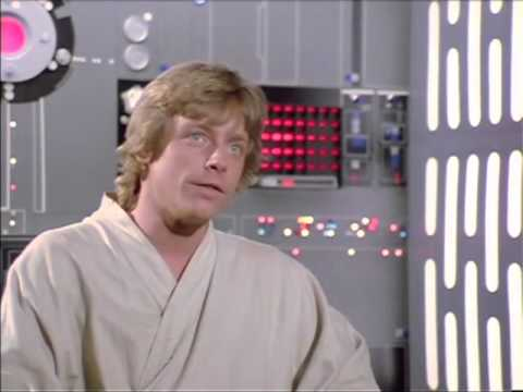 Mark Hamill interview on set of Star Wars