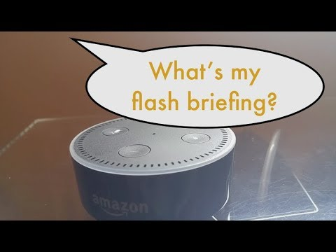 How to Change the Flash Briefing on Amazon Alexa thumbnail