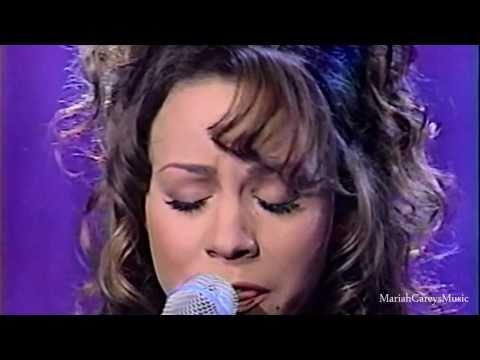 (HD) Mariah Carey - Hero (Live at Jay Leno 1993)