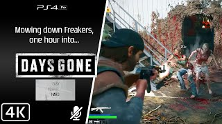 Days Gone [PS4] One hour in [Hard difficulty]